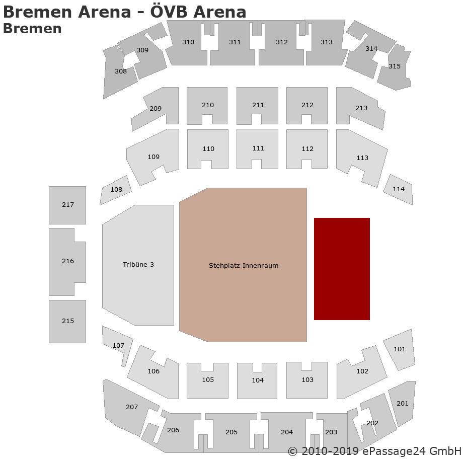 Bremen Arena - ÖVB Arena