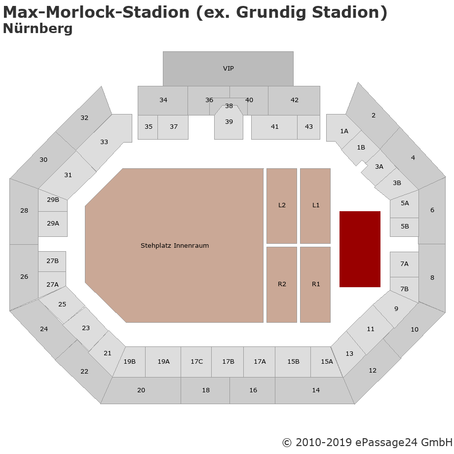 Max-Morlock-Stadion (ex. Grundig Stadion)