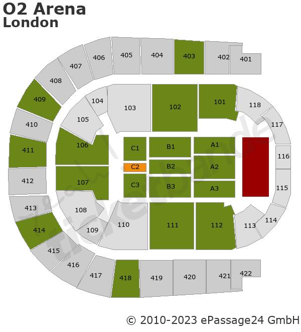 Shania twain biglietti per londra o2 arena for Hotels 02 arena