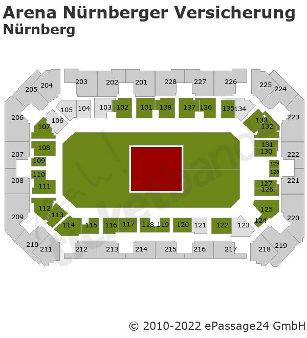 Pur Tickets Arena Nurnberger Versicherung Nurnberg 01 12 2018