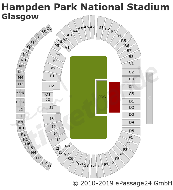Hampden Park National Stadium