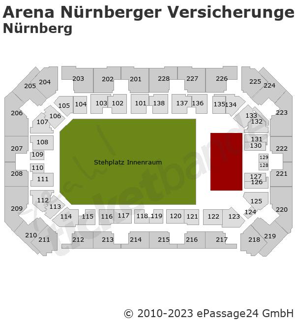 Nightwish Tickets Arena Nurnberger Versicherung Nurnberg 23 11