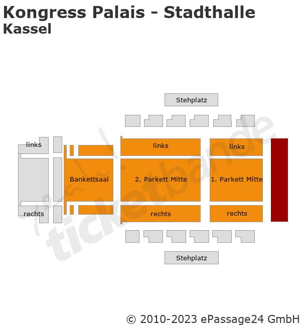 Kongress Palais - Stadthalle