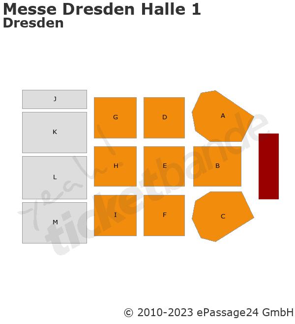 Messe Dresden Halle 1