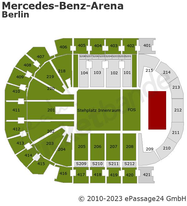 Mercedes-Benz-Arena (ehem. o2 World)