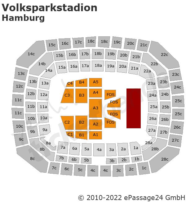 Helene Fischer In Hamburg, Volksparkstadion, 14. Juli