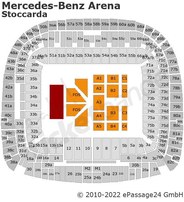 Helene Fischer Tickets Hotel Mercedes Benz Arena